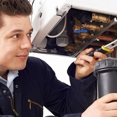 image of a plumber